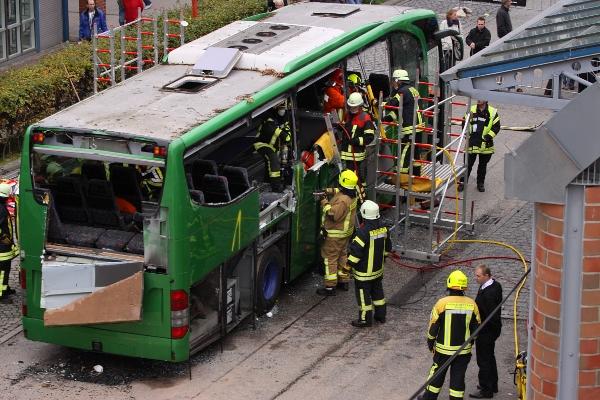 Busunfall Frankfurt Heute