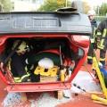 PKW in Dachlage - rescueDAYS 2010
