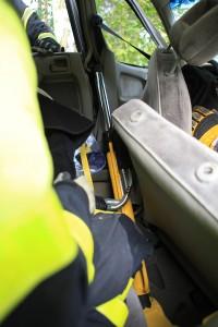 PKW mit Seitenanprall - rescueDAYS 2010