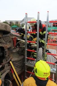 PKW in Seitenlage - rescueDAYS 2010