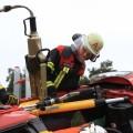 PKW in Seitenlage -rescueDAYS 2010