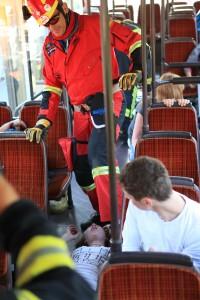 Busseminar: Massenanfall von Verletzen