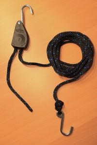 Der Schnellflaschenzug Rope-Rachet