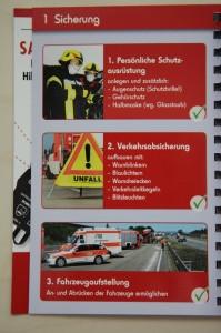 Quickcheck Verkehrsunfall - Sicherung