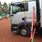 LKW-Fahrerhaussicherung