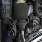 Luftfederung und Aufhängung einer LKW-Kabine